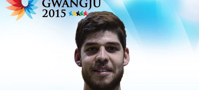 Gwangju 2015: Sebastián Albornoz (Derecho) representa a Chile en vóleibol