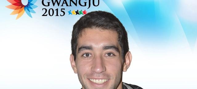 Gwangju 2015: Alfredo Sepúlveda (Medicina) representa a Chile en atletismo
