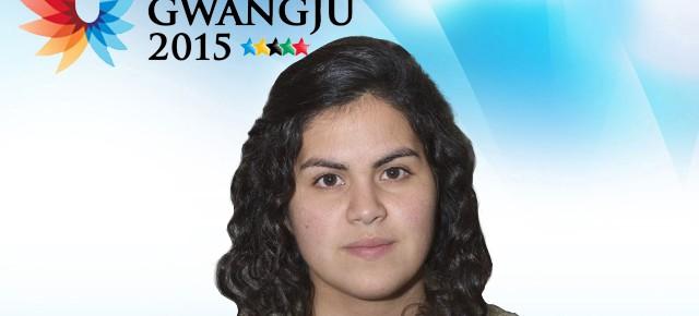 Gwangju 2015: Blanca Durán representa a Chile en tenis de mesa mujeres