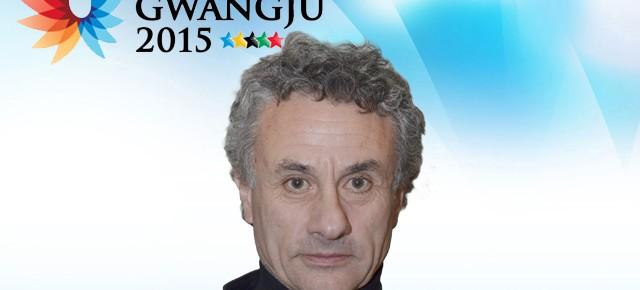 Gwangju 2015: Carlos Santis es el técnico de la selección de atletismo