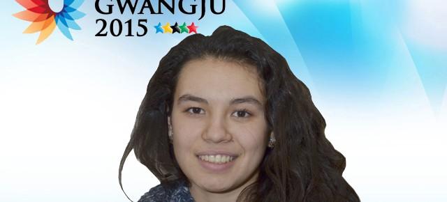 Gwangju 2015: Catalina Melo (Odontología) representa a Chile en vóleibol