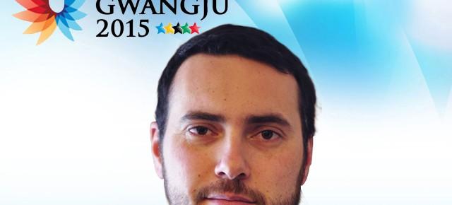 Gwangju 2015: Daniel Muñoz Quevedo es el jefe de la delegación chilena