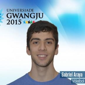 Gwangju 2015: Gabriel Araya (Medicina) representa a Chile en vóleibol
