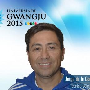 Gwangju 2015: Jorge de la Cerda es el técnico en vóleibol hombres