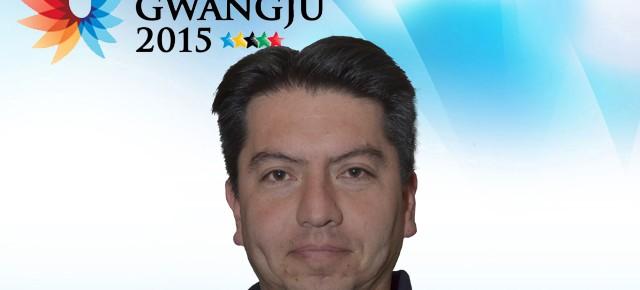Gwangju 2015: Juan Soto es el asistente técnico en vóleibol hombres