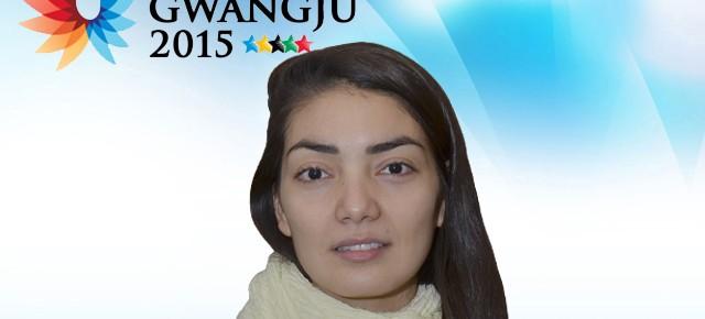 Gwangju 2015: Nicole Bidart (FCFM) representa a Chile en taekwondo